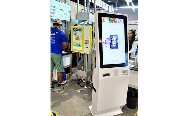 Self service touch screen kiosks