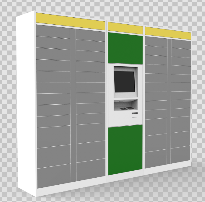 Automated electronic smart lockers