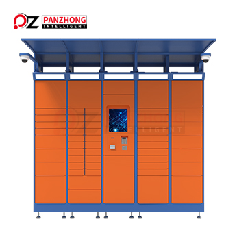 outdoor parcel delivery lockers