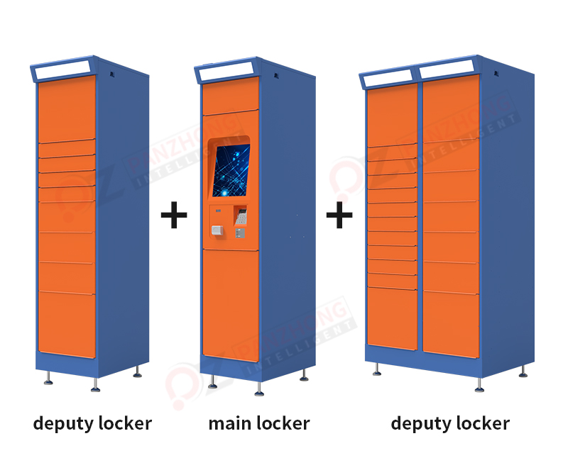 outdoor intelligent parcel lockers