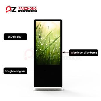 55inch floor standing advertising display